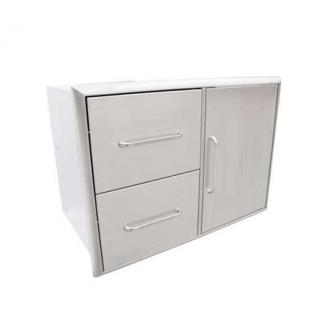 Saber double drawer with door combo - арт. K00AA3114